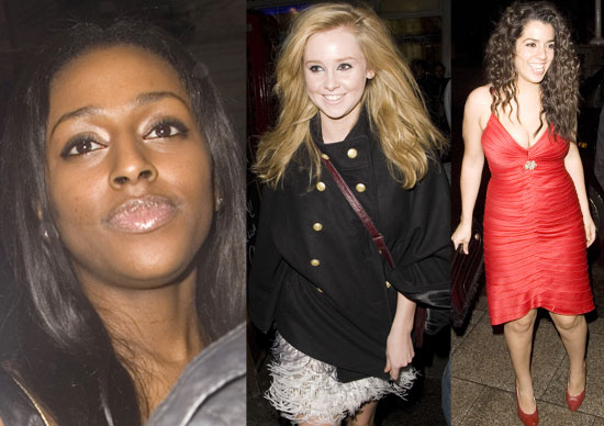 Photos Of Alexandra Burke, Ruth Lorenzo And Diana Vickers At The X Factor Wrap Party