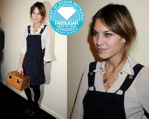 Alexa Chung Wins Best New Style Icon