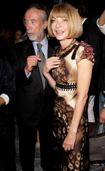 Domenico De Sole, Anna Wintour