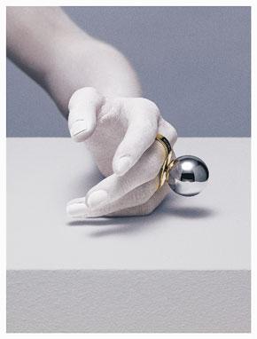 Maison Martin Margiela Serves Up Gold, Silver, and Diamonds