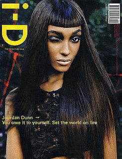 Jourdan Dunn Winks, Blinks, and Nods at Naomi Campbell for September 2008 i-D
