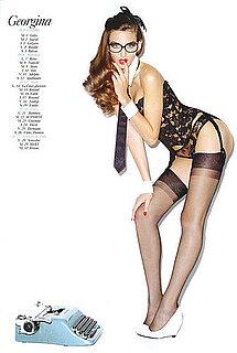 Sexy Pinups Cover 2009 Vogue Paris Calendar