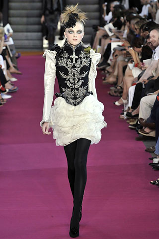 Vlada At Lacroix And Chanel