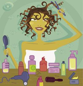 Salon Hair Product Samples