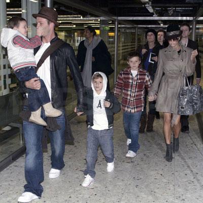 Beckhams Take Flight
