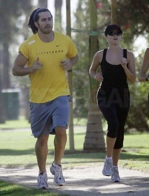Reese And Jake Out Jogging