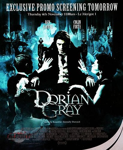 Dorian Gray posters.