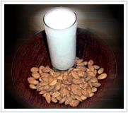 Jiva Ayurveda Recipes - Almond Milk (Badaam ka Doodh)
