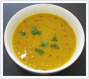 Jiva Ayurveda Recipes - Split Orange Lentils (Masoor ki Daal)