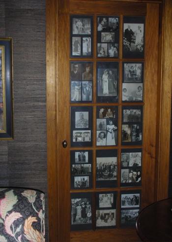 Cool idea door panes become picture frames popsugar home for Idea door files