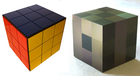 Which Rubik's Cube-Inspired Table Do You Prefer?