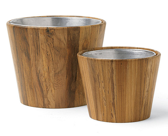 Steal of the Day: Teak Planters