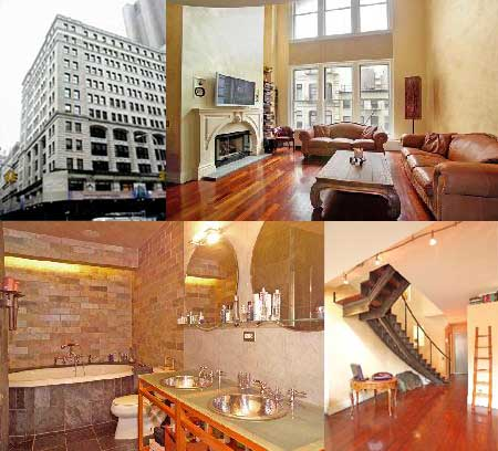 This just in scarlett johansson sells tribeca loft at a for Tribeca loft for sale