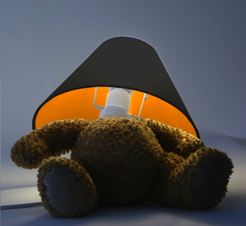 Love It or Hate It? Teddy Bear Lamp