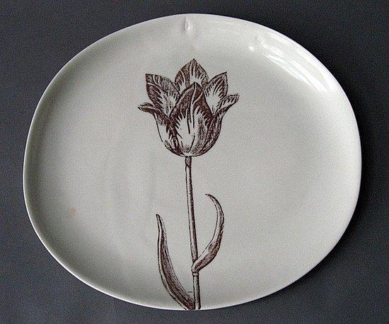 Etsy Find: Open Tulip Serving Platter