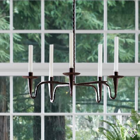 Steal of the Day: Gump's Iron Candle Chandelier