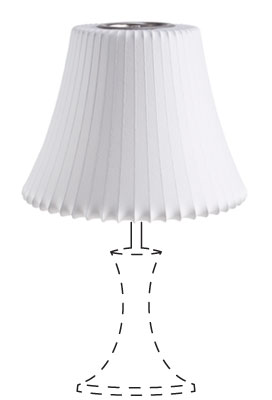 Nice and New: Bubble Lamp Shade