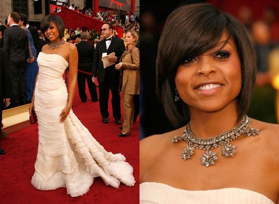 Oscars Red Carpet: Taraji P. Henson
