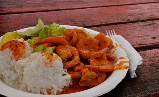 Spicy Hot Shrimp