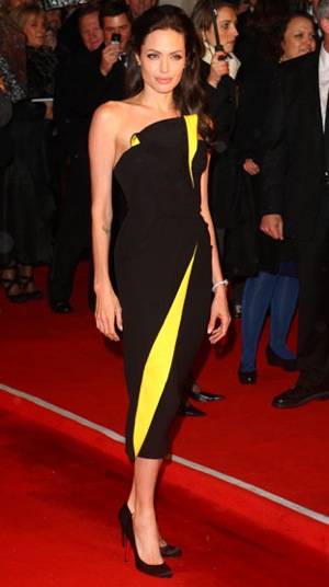 Sharon Stone, Angelina Jolie, and More Celebrities at BAFTA Awards