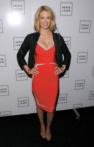 January Jones, Herve Leger