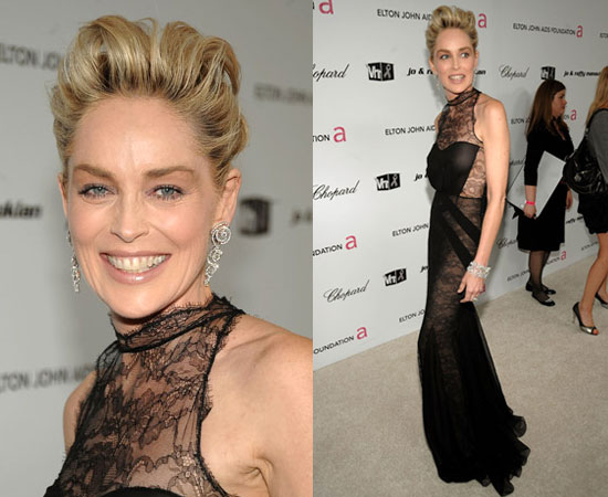 Oscars Afterparty: Sharon Stone