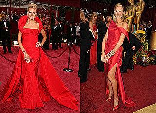 Compare & Contrast: Heidi Klum, Oscar's Lady in Red