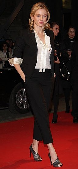 Naomi Watts in a Black and White Suit at Milan's Palazzina Della Ragione For the Extreme Beauty Event