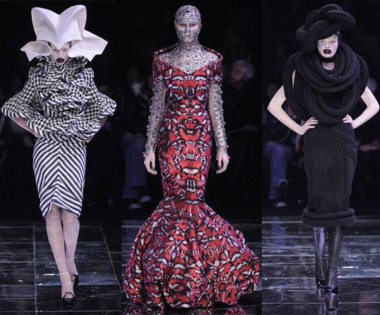 Freaky or Fabulous: McQueen's Mental Runway