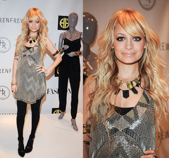 Nicole Richie Promotes House of Harlow at Holt Renfrew in Toronto