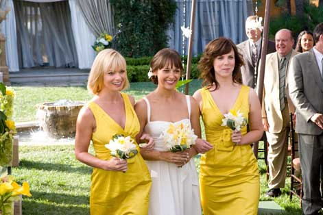 Yellow Bridesmaid Dresses in the Movie I Love You, Man