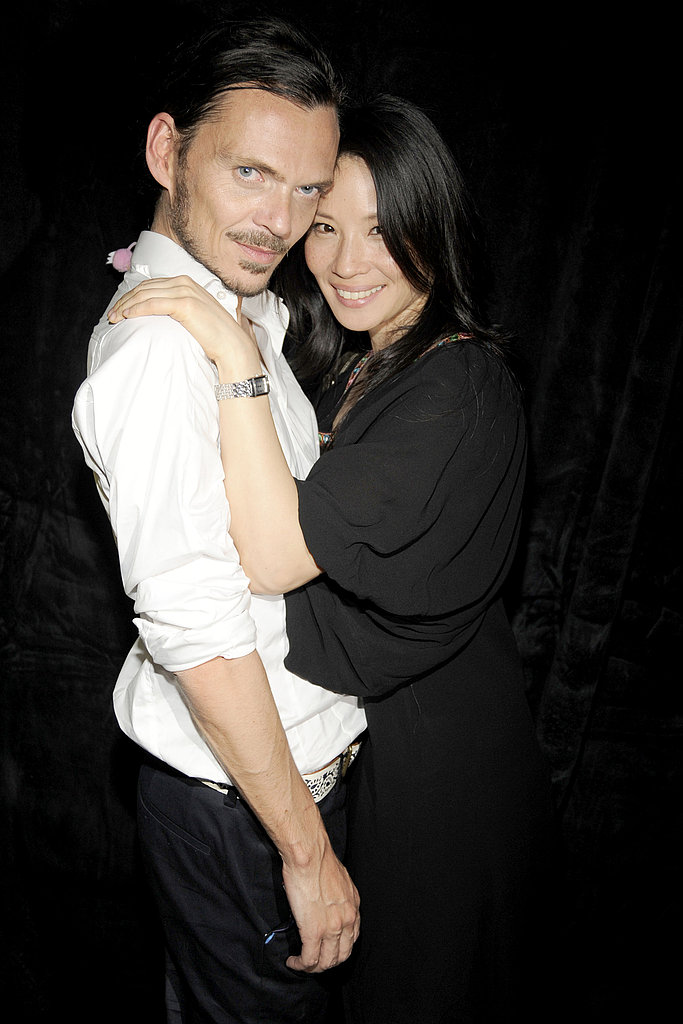 Matthew Williamson & Lucy Liu