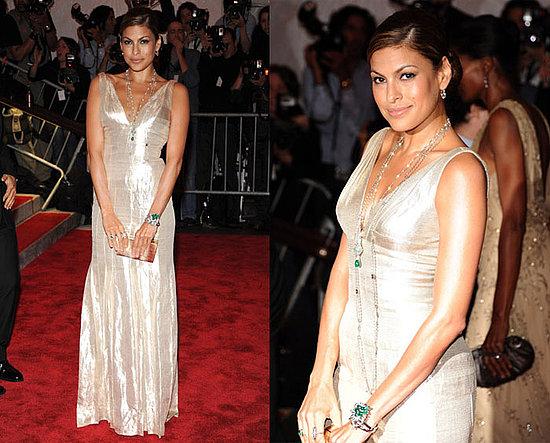 The Met's Costume Institute Gala: Eva Mendes