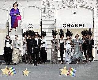International Herald Tribune Writer Suzy Menkes Shares Her Tips On Crashing a Fashion Show
