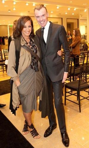FabSugar Interview With Designer Donna Karan at Neiman Marcus in San Francisco