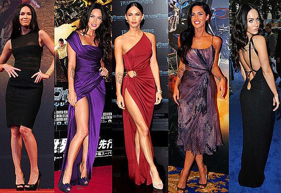 Megan Fox's Transformers Premiere Outfits