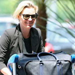 Celebrity Style: Kate Moss in Flight Chic