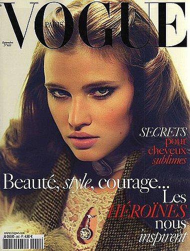 Lara Stone - Vogue Paris September 2009