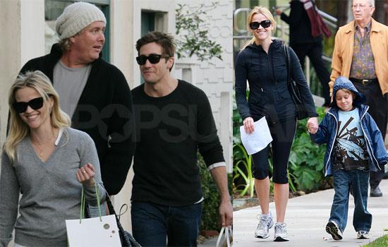 Reese, Jake and Deacon in LA