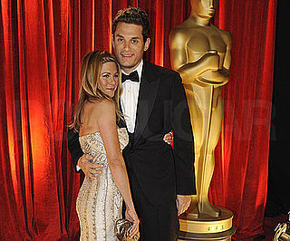 Photo of John Mayer and Jennifer Aniston at the 2009 Oscars