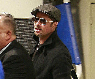 Photo of Brad Pitt at LAX