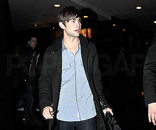 Photo of Chace Crawford Arriving at Jimmy Fallon's Show