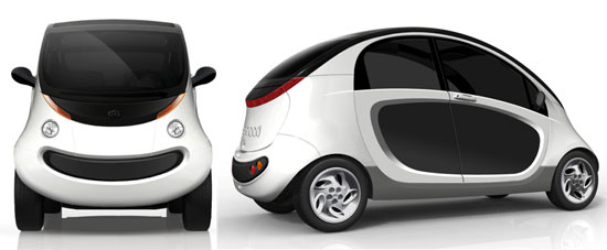 Peapod Mobility Electric Car