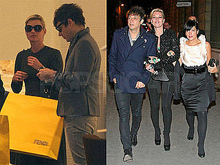 Photo of Kate Moss, Jamie Hince, and Lily Allen at the Chanel After-Party in London