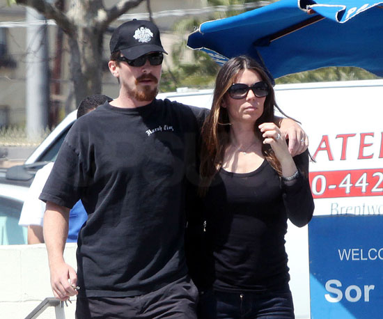 Photo of Christian Bale and His Wife Sibi Out in LA
