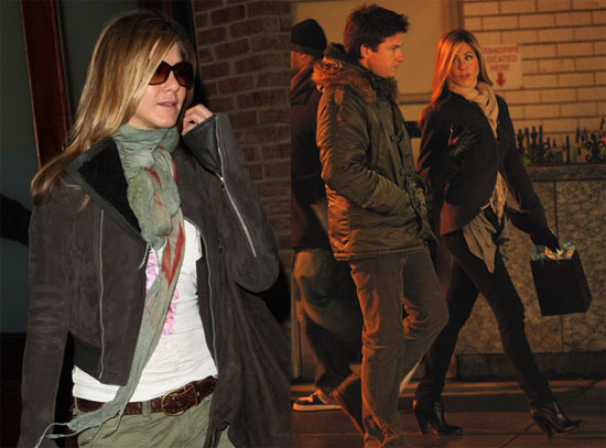 Jennifer Aniston Leaving Her Hotel in NYC