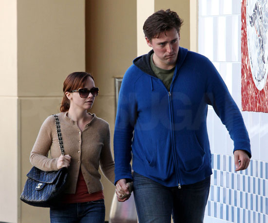 Photo of Christina Ricci and Fiance Owen Benjamin Out Together in LA