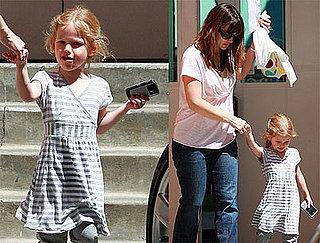 Jen Picks Up Violet From School