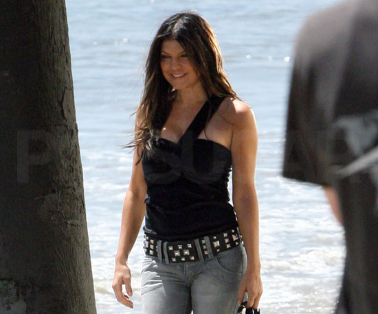 Photo of Fergie at a Photo Shoot in LA