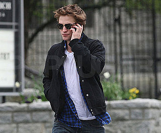 Photo of Robert Pattinson Out in Vancouver